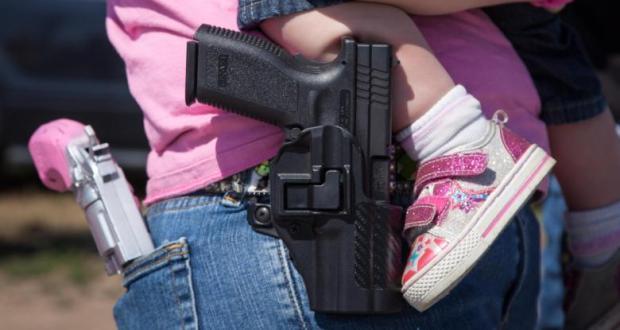 a child shot dead
