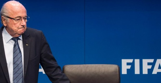 Joseph Blatter had announced his resignation