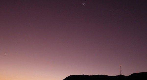Spectacular Venus and Jupiter conjunction