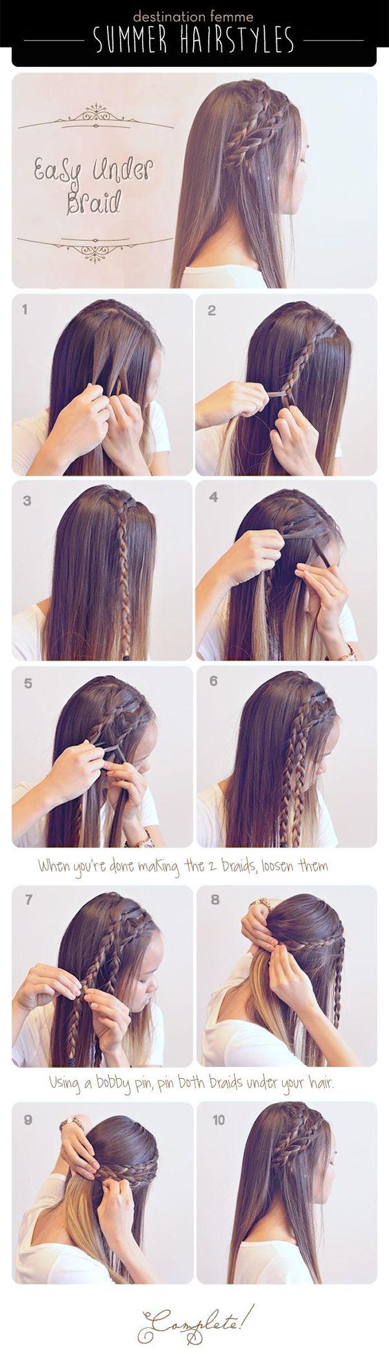 Easy under braide