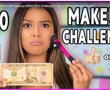 Full Face DRUGSTORE Makeup UNDER $10 Challenge! Poop or Woop?