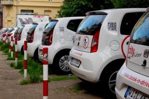 car rental auto parking