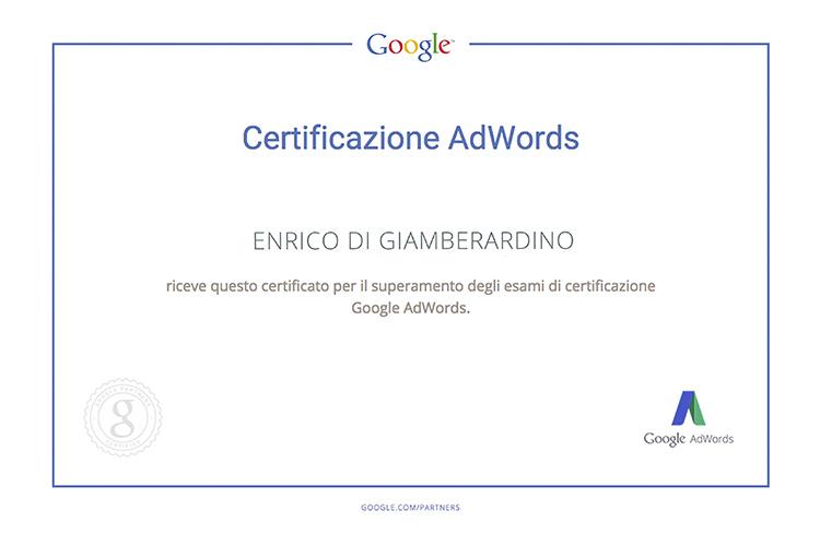 Certificazione ADWORDS Enrico copy