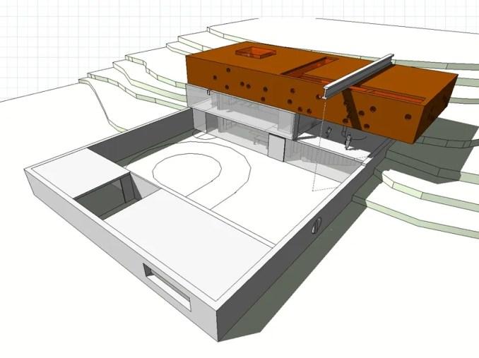 【建築大師Sketchup Models-Rem Koolhaas 雷姆·庫哈斯 精選4件建築3D模型】