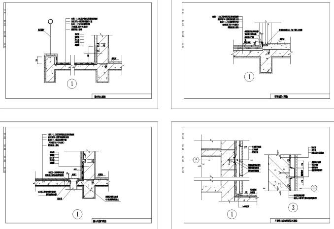 外牆防水設計、防水工程、高帽落水頭、屋頂中間落水頭、側邊落水頭、屋頂落水管、外牆防水設計、預鑄屋面防水設計、種植屋面防水設計、廚廁防水設計(依圖例為準)
