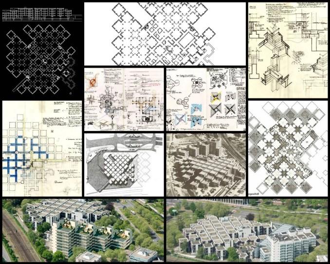 【世界知名建築案例研究CAD設計施工圖】中央管理辦公大樓阿珀爾多倫-赫爾曼·赫茲伯格Herman Hertzberger