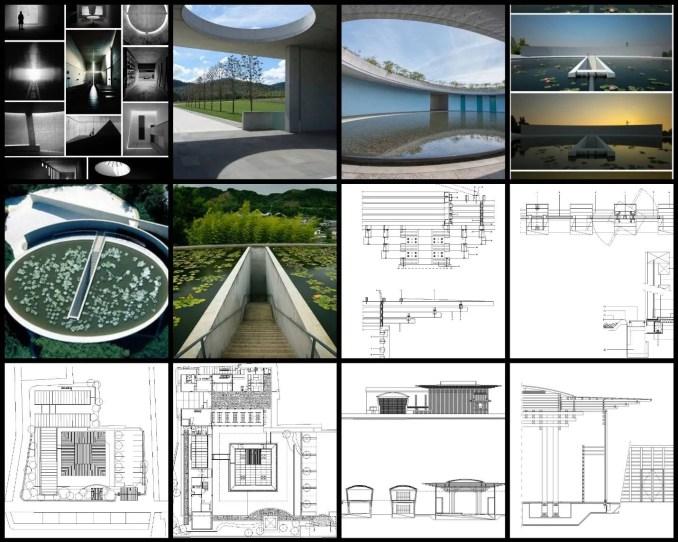 【世界知名建築案例研究CAD設計施工圖】Templo Budista-安藤忠雄Tadao Ando