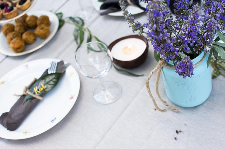 Blogger Dinner Omas Teekanne Table