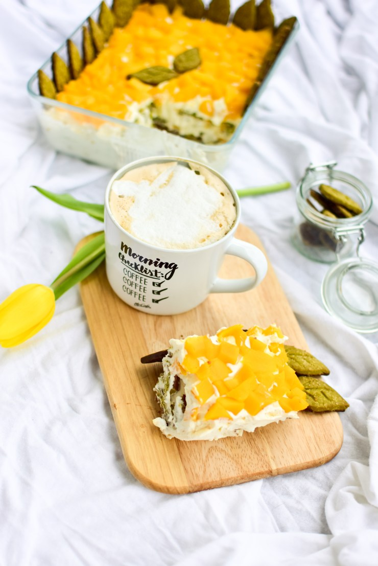 Mango-Kokosnuss-Matcha Tiramisu