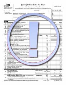 Updated IRS Form 720 2013