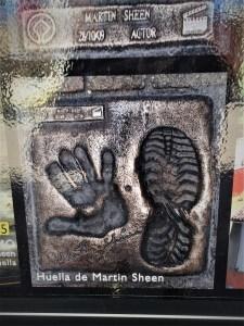 Martin Sheen Belorado camino de santiago