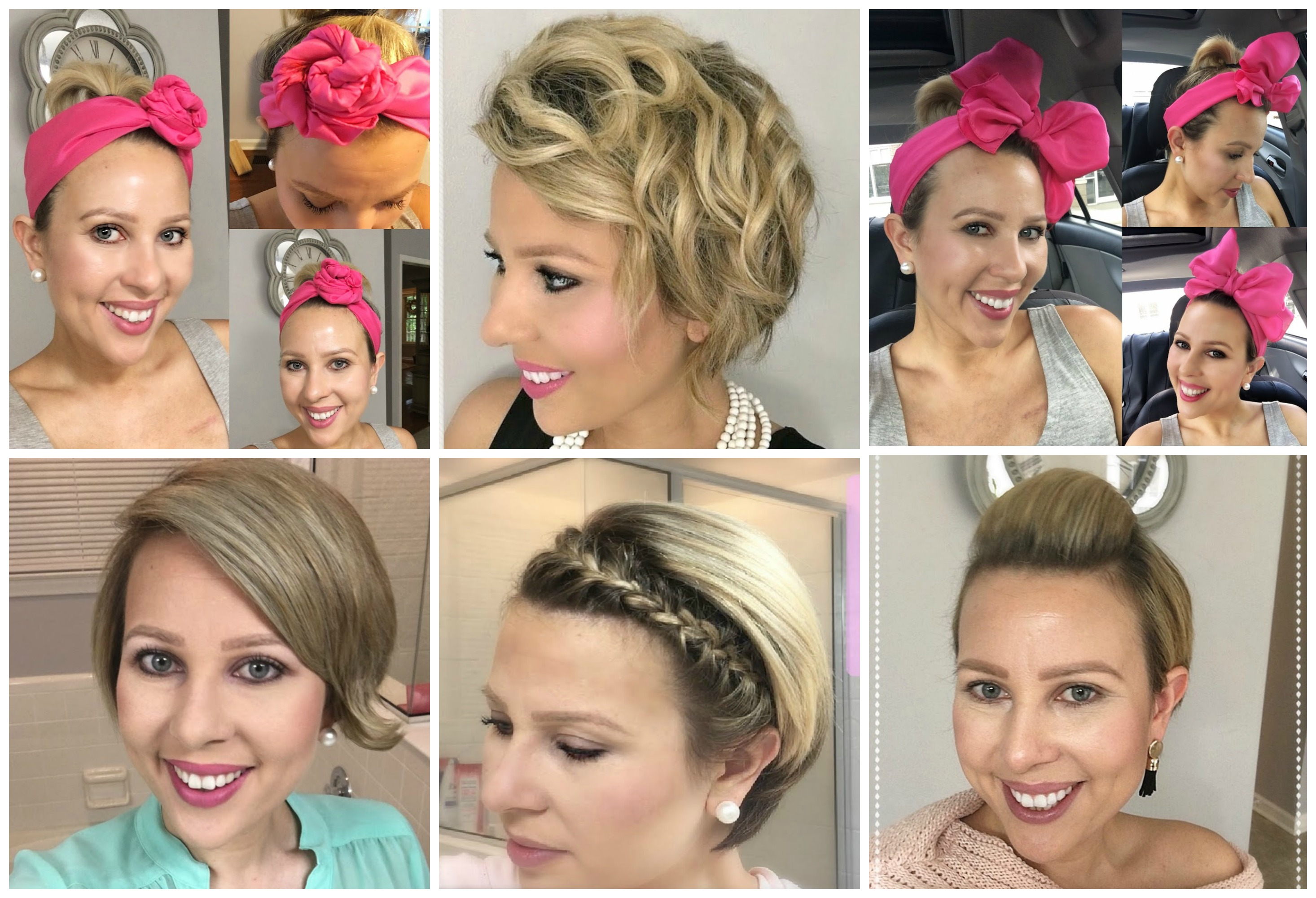 Chemo Regrowth How to Style Your Short Hair , My Cancer Chic