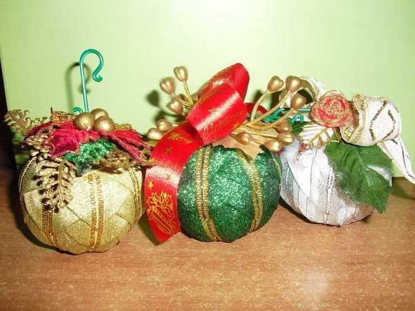 Palline Di Natale Fai Da Te Rivestite Di Nastri Tutorial