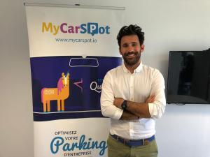 benoit mahé directeur commercial startup mycarspot