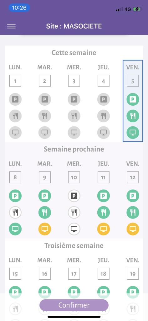 Solution de gestion de parking d'entreprise - App mobile MyCarSpot