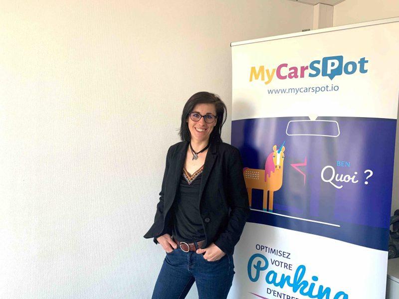 Camille Blet-Sarrazin, Customer Success Manager chez MyCarSpot