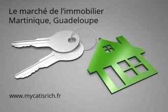 marché de l'immobilier Martinique Guadeloupe