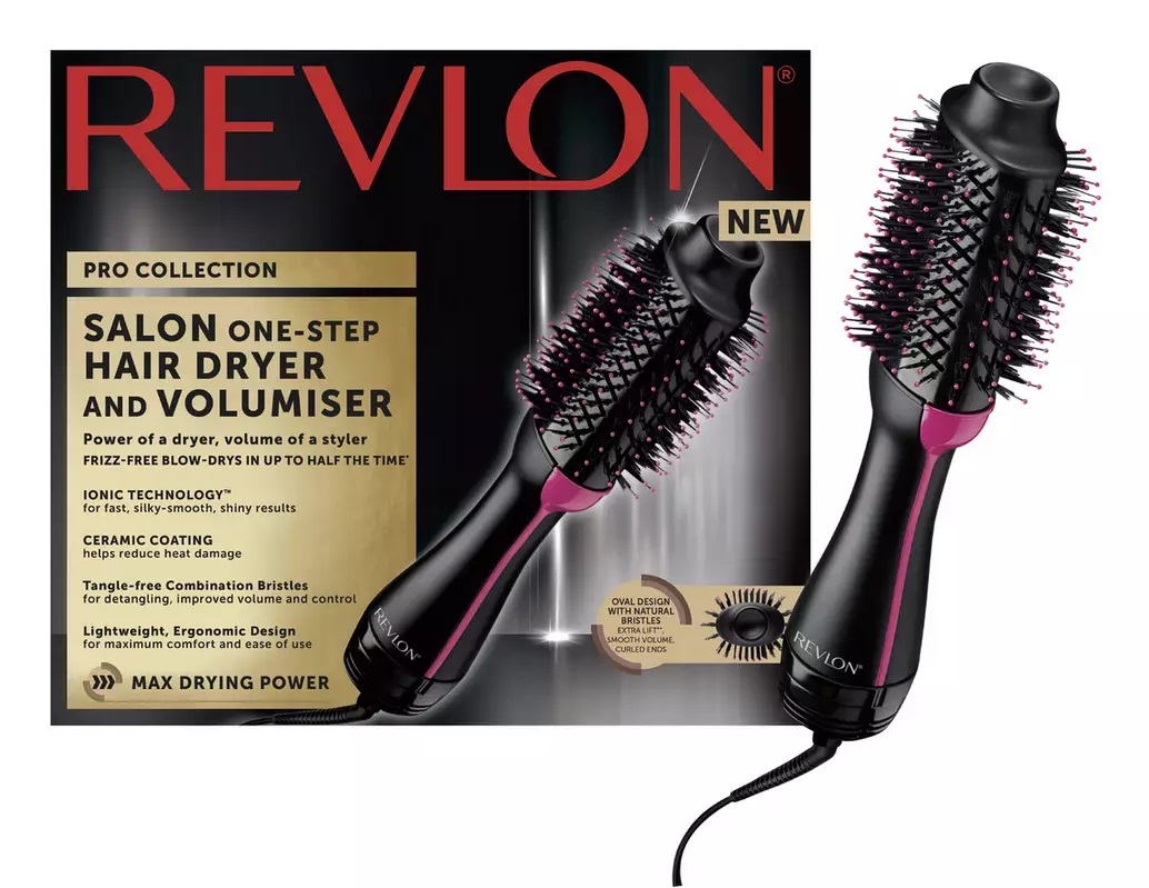 Revlon's One-Step Dryer