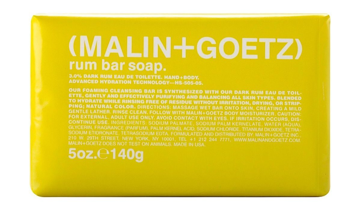 Malin + Goetz Rum Bar Soap