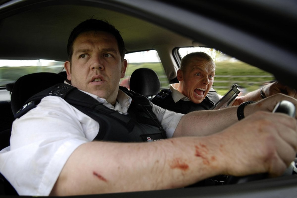 Simon Pegg, Nick Frost Hot Fuzz