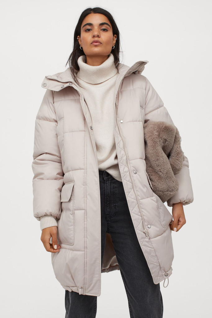 Hooded padded jacket (Picture: H&M)