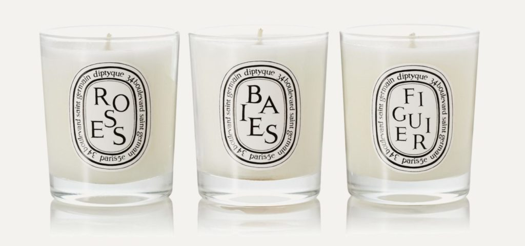 My Celebrity Life – Diptyque Set of Three Scented Candles