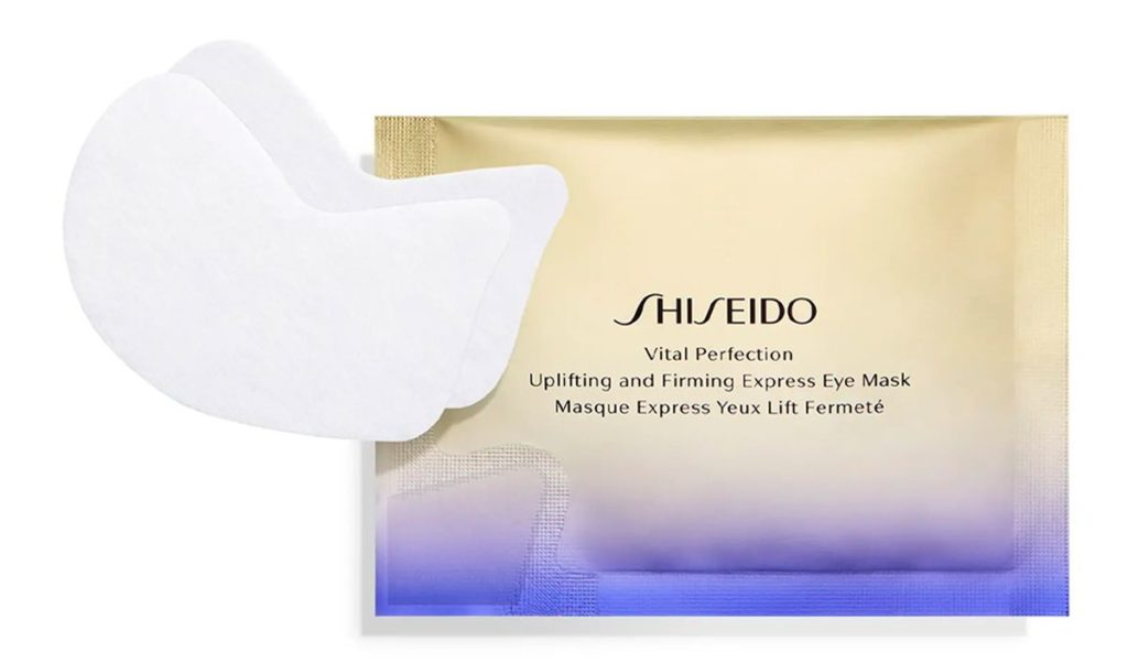 My Celebrity Life – Shiseido Vital Perfection Uplifting and Firming Express Eye Mask