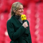 My Celebrity Life – Gabby Logan began experiencing the perimenopause earlier than expected Picture Getty