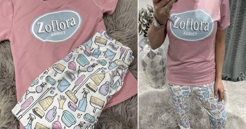 My Celebrity Life – The cleaning fan pyjamas Picture Want That Trend