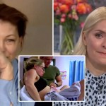 My Celebrity Life – Holly became teary watching the emotional footage Picture ITV