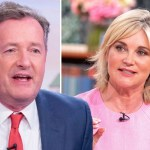 My Celebrity Life – Piers Morgan has branded Anthea Turner a hypocrite Picture ITV Rex