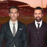 My Celebrity Life – Rob McElhenney and Ryan Reynolds have completed the takeover of Wrexham AFC Picture Getty