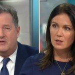 My Celebrity Life – Susanna Reid has been criticised for not speaking up enough as Piers Morgan criticised the Royal couple Picture ITV