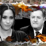My Celebrity Life – Piers is one of Meghans most vocal critics Picture RexGettyReuters