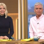 My Celebrity Life – Viewers were missing out on their regularly scheduled Holly and Phil today Picture ITV