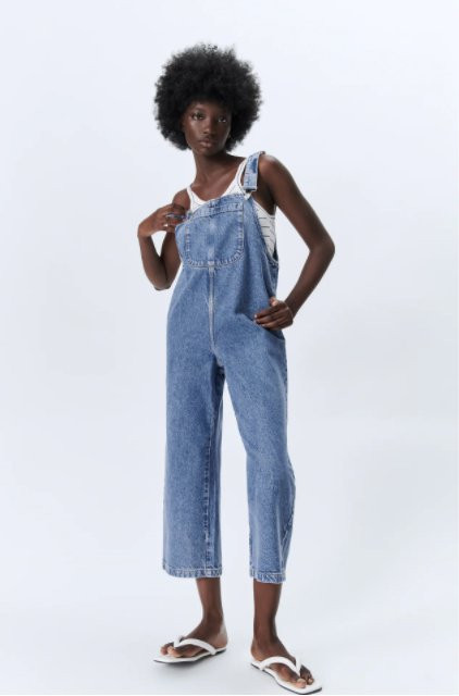 Dungarees to wear this summer Picture: Zara