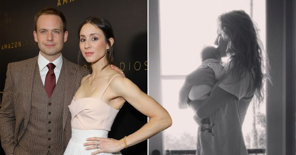 Suits star Patrick J Adams delivered his baby girl with wife Troian Bellisario in their car: 'There was no room for panic'