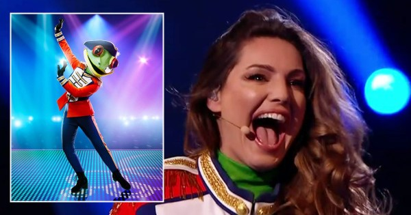 Kelly Brook opens up on 'so lonely' experience backstage on The Masked Dancer
