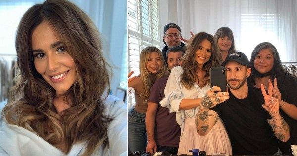 Cheryl returns to Instagram after a year's absence and is looking as glam as ever