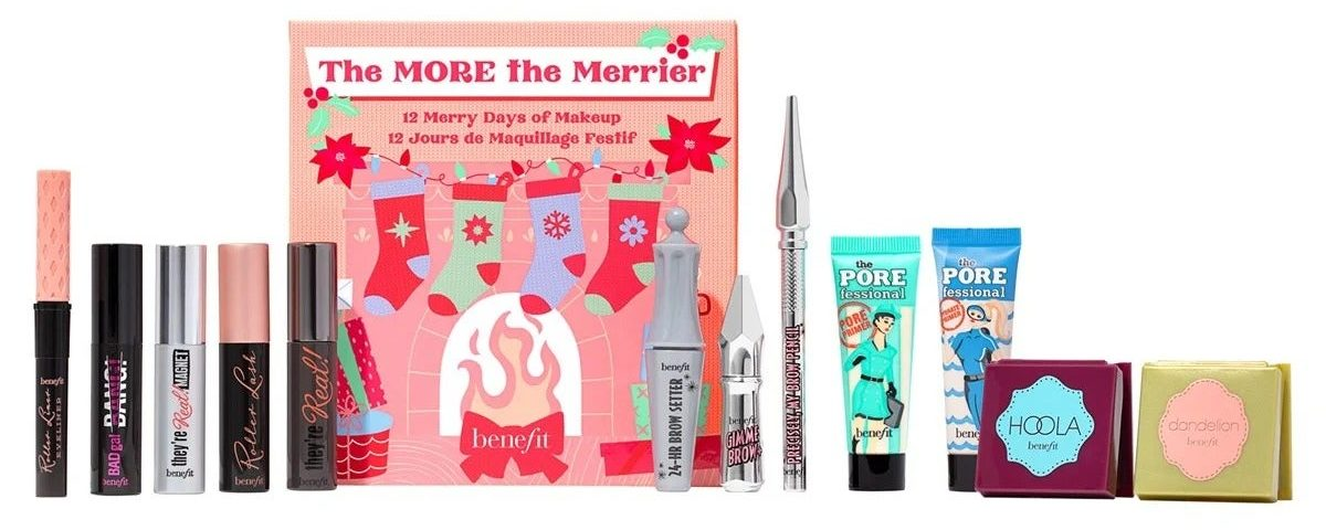 My Celebrity Life – Benefit The MORE The Merrier Advent Calendar