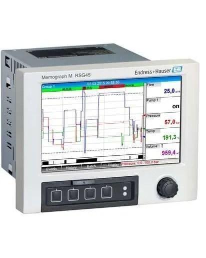Endress+Hauser Memograph M RSG45 Advance Data Manager