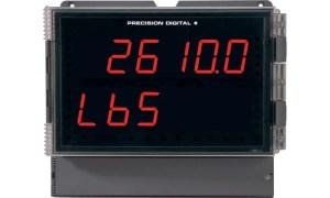 Precision Digital PD2-6100 Helios Strain Gauge, Load Cell & mV Meter