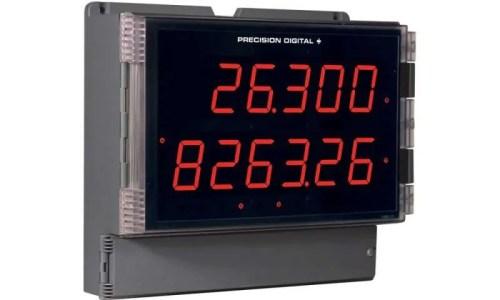Precision Digital PD2-6300 Helios Pulse Input Flow Rate/Totalizer