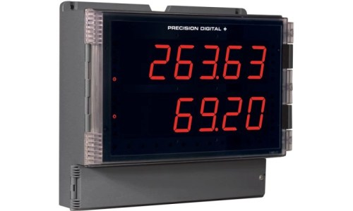 Precision Digital PD2-6363 Helios Dual Pulse Input Flow Rate/Totalizer