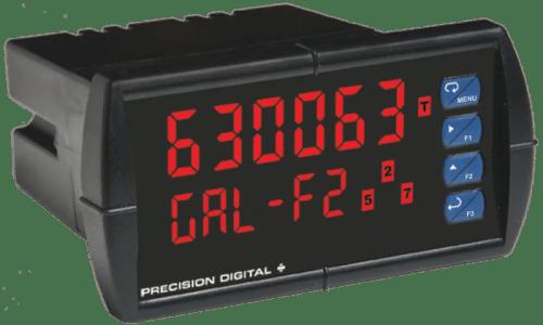 Precision Digital PD6300 ProVu Pulse Input Flow Rate/Totalizer