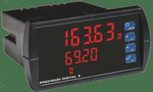 Precision Digital PD6363 ProVu Dual Pulse Input Flow Rate/Totalizer