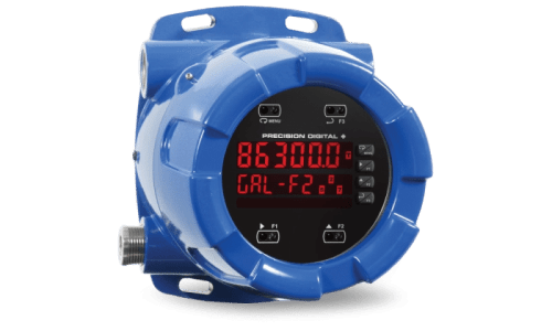 Precision Digital PD8-6300 ProtEX-MAX Explosion-Proof Pulse Input Flow Rate/Totalizer