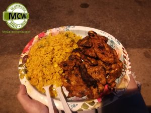Palm Springs Village Fest - Celiac Gluten Free Chicken and Rice