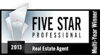 Charlotte NC Five Star Professional 2013 best of charlotte real estat realtors