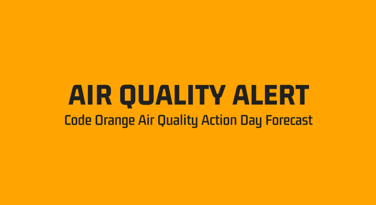 DEP Issues a Code Orange Air Quality Action Day Forecast